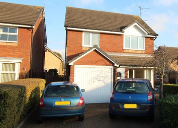 Thumbnail 3 bed detached house for sale in Godwit Close, Whittlesey, Peterborough