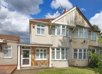 Thumbnail 2 bed semi-detached house for sale in East Rochester Way, Sidcup, Kent