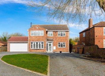 Thumbnail 4 bed detached house for sale in Hillside, Beckingham, Lincoln, Lincolnshire