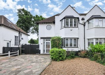 Thumbnail 3 bed semi-detached house for sale in Towncourt Crescent, Petts Wood, Orpington