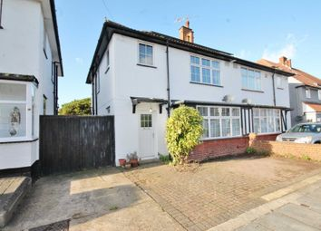 Thumbnail 3 bed semi-detached house for sale in Cavendish Avenue, New Malden