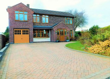 Thumbnail 4 bed detached house for sale in St Marys Road, Little Haywood, Stafford.