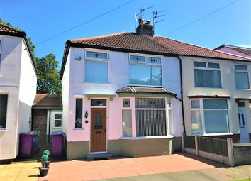 Thumbnail 3 bed semi-detached house for sale in Stratford Road, Aigburth, Liverpool