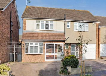 Thumbnail 3 bed semi-detached house for sale in River Way, Loughton, Essex