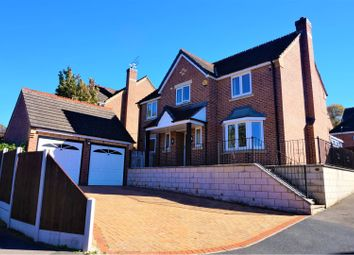 Thumbnail 4 bed detached house for sale in Greenway Drive, Littleover, Derby