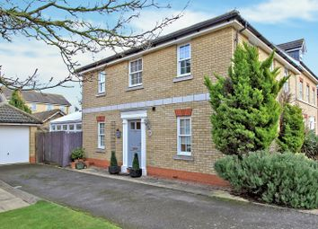 Thumbnail 4 bed detached house for sale in The Linnets, Cottenham, Cambridge