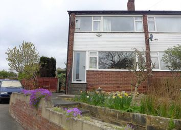 Thumbnail 3 bedroom town house for sale in Banksfield Avenue, Yeadon, Leeds