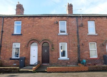 Thumbnail 3 bed terraced house for sale in Esk Bank, Longtown, Carlisle