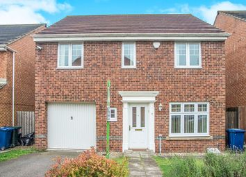 Thumbnail 4 bedroom detached house for sale in Kelvedon Avenue, Kenton, Newcastle Upon Tyne