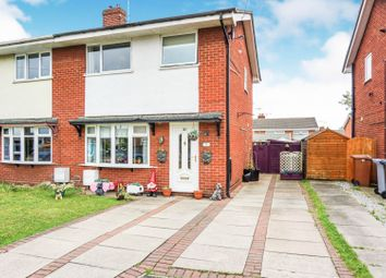 Thumbnail 3 bed semi-detached house for sale in Grenville Close, Crewe