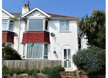 Thumbnail 3 bed semi-detached house for sale in Lower Polsham Road, Paignton