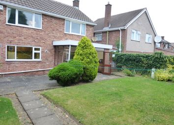 Thumbnail 3 bed detached house to rent in Wakerley Road, Evington, Leicester