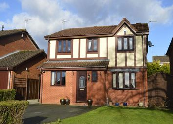 Thumbnail 4 bed detached house for sale in Smale Rise, Oswestry