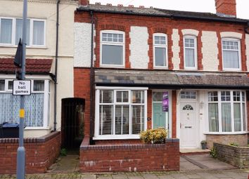 Thumbnail 2 bedroom terraced house for sale in Westminster Road, Birmingham