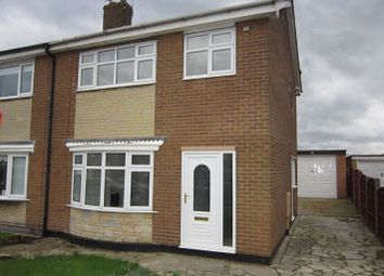 Thumbnail 3 bed semi-detached house to rent in Bretby Close, Doncaster, Doncaster