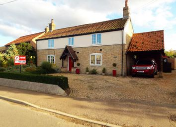 Thumbnail 3 bed detached house for sale in The Street, Gooderstone, King's Lynn