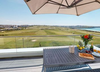 Thumbnail 5 bed flat for sale in Headland Road, 15 Azure, Headland Road, Newquay, Newquay