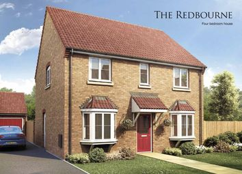 Thumbnail 4 bed detached house for sale in The Redbourne, Boston Gate, Sibsey Road, Boston