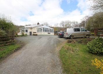 Thumbnail 4 bed detached bungalow for sale in Llandyfriog, Ceredigion