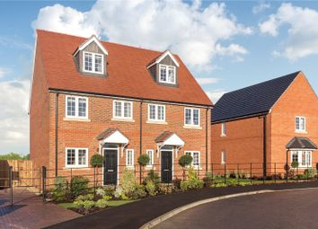 Thumbnail 3 bed semi-detached house for sale in Plot 47, The Ickhurst, Hopefield Grange, Benson, Oxfordshire
