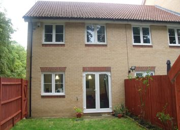 Thumbnail 3 bed end terrace house to rent in Cranwell Road, Farnborough