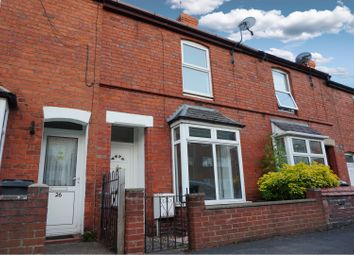 Thumbnail 2 bed terraced house for sale in Llwyn Road, Oswestry