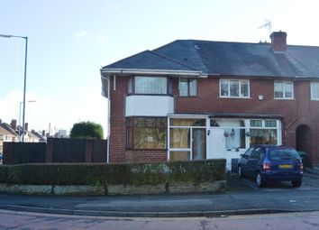 Thumbnail 2 bedroom end terrace house for sale in Walsall Road, West Bromwich
