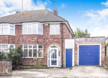 Thumbnail 3 bed semi-detached house for sale in Lindfield Road, Western Park, Leicester