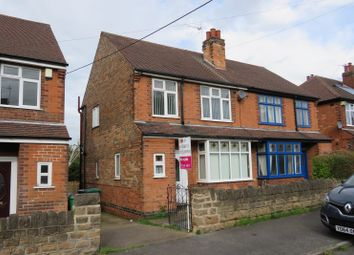 Thumbnail 3 bed semi-detached house for sale in Bannerman Road, Nottingham, Nottinghamshire