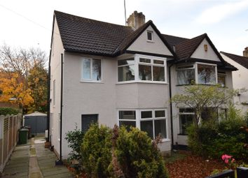 Thumbnail 3 bed semi-detached house for sale in Stainbeck Road, Meanwood, Leeds, West Yorkshire