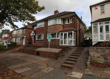 Thumbnail 3 bed semi-detached house for sale in Burnham Road, Birmingham, West Midlands