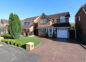 Thumbnail 4 bed detached house for sale in Northumberland Close, Tamworth