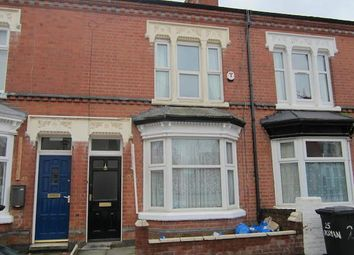 Thumbnail 3 bedroom terraced house to rent in Roman Street, Leicester, Leicestershire