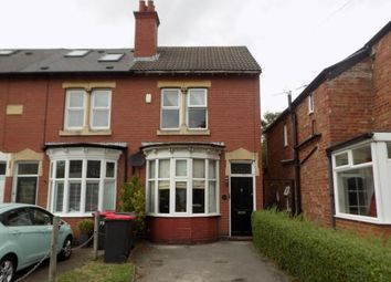 Thumbnail 3 bed end terrace house for sale in Coleshill Road, Water Orton, Birmingham, .