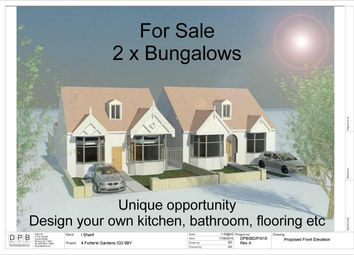 Thumbnail 5 bedroom detached bungalow for sale in Forterie Gardens, Ilford