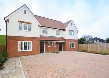 Thumbnail 4 bed semi-detached house for sale in Bessborough View, Weston Avenue, West Molesey, Surrey
