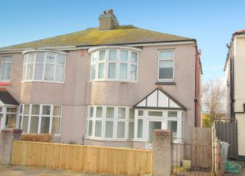 Thumbnail 3 bedroom semi-detached house to rent in Orchard Road, Beacon Park, Plymouth