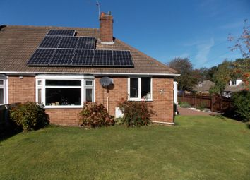 Thumbnail 2 bed semi-detached bungalow for sale in Station Road, Healing, Grimsby