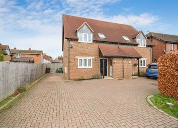 Thumbnail 4 bed semi-detached house for sale in Thame Road, Haddenham, Aylesbury