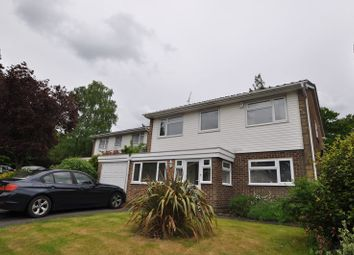 Thumbnail 4 bed detached house to rent in York Road, Camberley