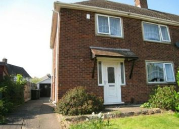 Thumbnail 3 bed semi-detached house to rent in Rossell Drive, Stapleford, Nottingham
