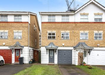 Thumbnail 3 bed semi-detached house for sale in Montana Gardens, London