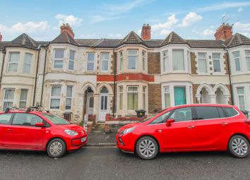 Thumbnail 4 bed terraced house for sale in Tewkesbury Street, Cathays, Cardiff