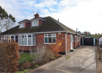 Thumbnail 3 bed semi-detached bungalow for sale in Marquis Avenue, New Waltham, Grimsby