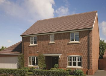 "Thumbnail 4 bed detached house for sale in ""The Burgess"" at Farnham Road, Odiham, Hook"