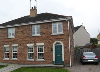 Thumbnail 3 bed semi-detached house for sale in 36, Summerhill Brae, Banbridge