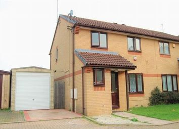 Thumbnail 3 bed semi-detached house for sale in Longland Court, The Headlands, Northampton