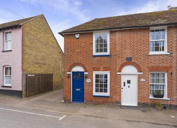 The Street, Boughton-Under-Blean, Faversham ME13. 2 bed end terrace house for sale