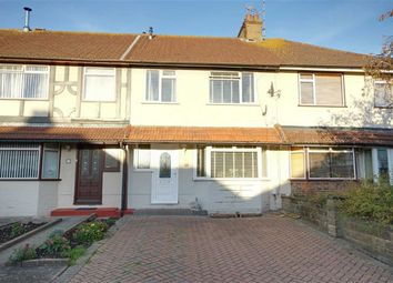 Thumbnail 3 bed terraced house for sale in Hadley Avenue, Broadwater, Worthing, West Sussex
