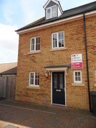 Thumbnail 3 bedroom property to rent in Wye Valley Road, Peterborough